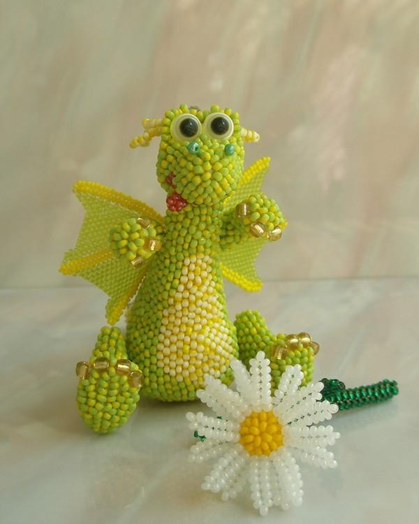 Девочки я нашла шикарный сайт.  Вот какое ЧУДО плетёт Ирина. это только одна игрушечка, а их там так много.